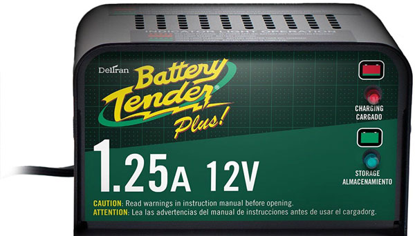 شارژر باتری خودرو Tender-plus